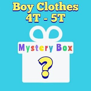💙 Boys Clothes 💙 Mystery Box, US 4T - 5T